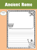 Editable Writing Paper : Ancient Rome 2 : Standard Lines