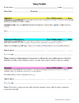 Editable Writing Portfolio Criteria Cover Sheets CCSS