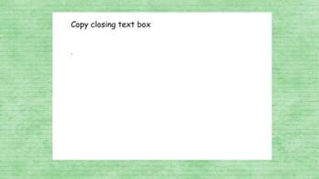 Editable ELA Powerpoint-Google classroom-Personal Narrative/Small Moment Writing