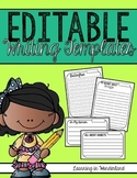 Editable Writing Templates