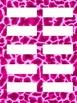 Editable Zebra Jungle Classroom Labels (30 different styles)