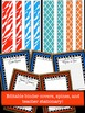 Editable Zebra and Quarterfoil Binder Covers and Spines
