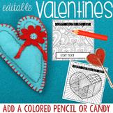 Editable Zen Valentine Cards