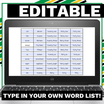 Go Fish - An Editable Sight Word Game for Elementary Students Low Prep