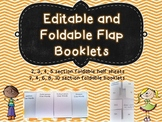 Editable and Foldable Flaps 2-10 flaps