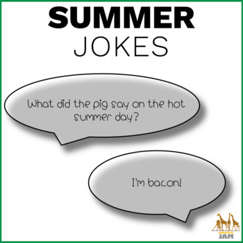 Editable and Personalized Bookmarks for Students for June with Jokes