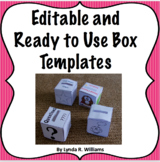Editable and Ready to Use Box Templates