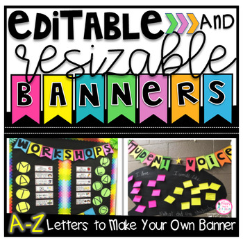 Editable and Resizable Banners