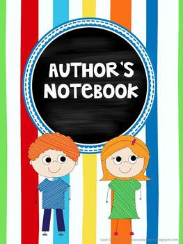 Editable binder cover -Author's and Daily