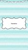 Editable Blue Design Binder Covers