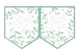 Editable bunting: leaves - classroom decor (large)