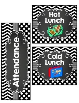 Editable classroom Signs and Labels