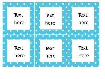 Editable labels- for anything! MANY COLORS