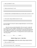 Editable series of behavior reflection worksheets