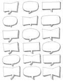 Blank speech bubbles ~Clip art ~Customize ~DIY ~Spanish ~French ~graphics