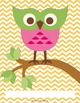 Teacher Binder Covers and Spines owl theme (Editable in PowerPoint)