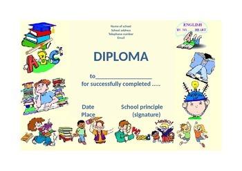 Editable version of Diploma
