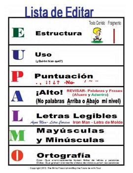 Editar Spanish Editing Using my Hands