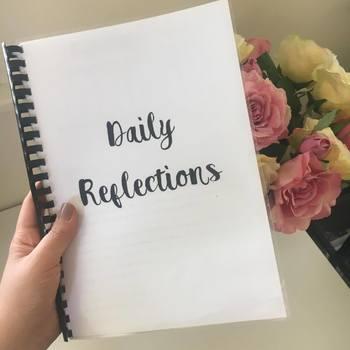 Edith Cowan University Daily Reflection Document