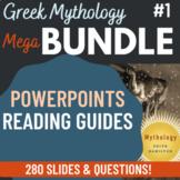 Edith Hamilton Mythology PowerPoint Bundle over 180 slides total