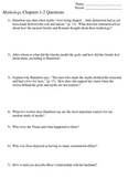 Edith Hamilton Mythology Questions, Activities, Review, an