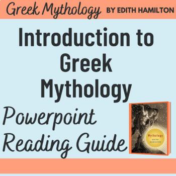 Edith Hamilton's Introduction to Classical Mythology Powerpoint