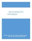 Edith Hamilton's Mythology Short Quiz- Part One and Part T
