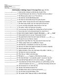 Edith Hamilton's Mythology Chapter 14 Scavenger Hunt (40 q) & KEY