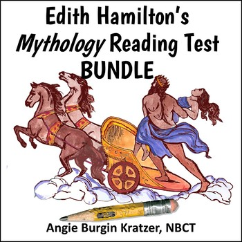 Edith Hamilton's Mythology Reading Test BUNDLE