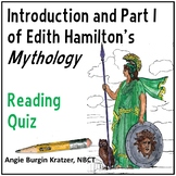 Edith Hamilton's Mythology Reading Test: Introduction and Part I