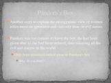 Edith Hamiltons's Mythology Part I Chapter 3 PowerPoint