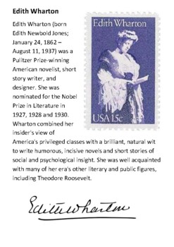 Edith Wharton Handout