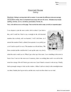 Editing #1: Labor Day & Halloween Printable Prompts (Grades 3-7)