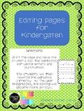 Editing #1 Kindergarten