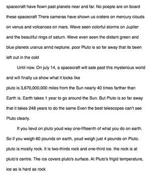 Editing 101- Pluto