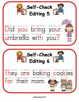 Editing Booklet for the Primary Grades