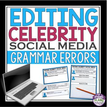 GRAMMAR ACTIVITY: Editing Celebrity Social Media