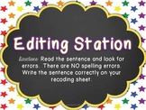 Editing Center {Freebie}