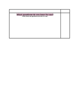 Editing Checklist