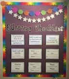 Editing Checklist Bulletin Board