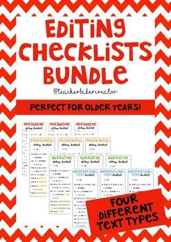 Editing Checklist Bundle