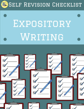 Editing Checklist -Expository Writing