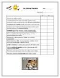 Editing Checklist (Includes six traits)