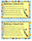Editing Checklist (K-First)