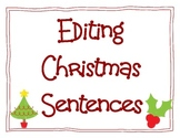 Editing Christmas Sentences