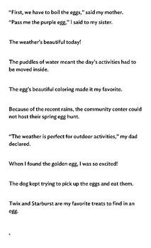 Editing Egg Hunt