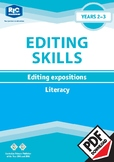 Editing Expositions – Year 2 – 3 ebook