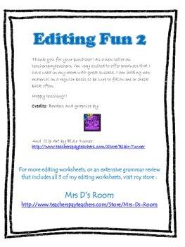Editing Fun 2