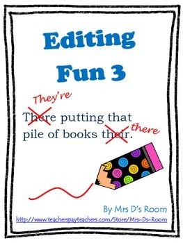 Editing Fun 3