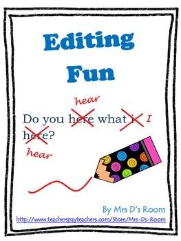 Editing Fun